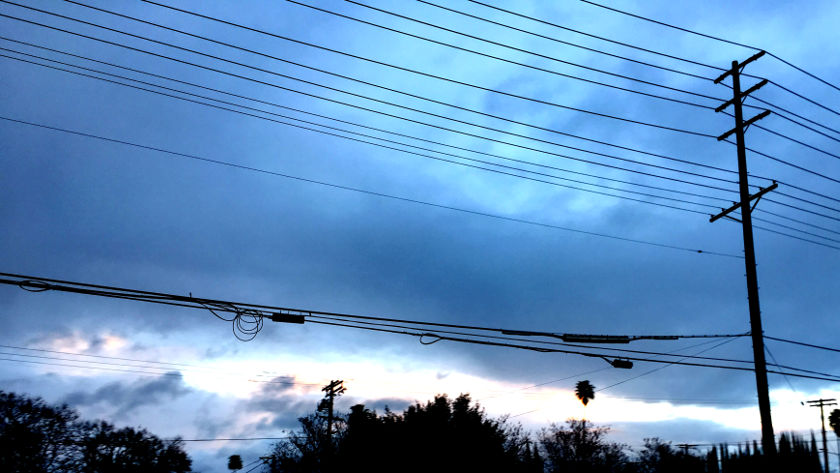 photo of telephone wires by Shai Gluskin